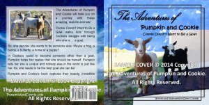 The Adventures of Pumpkin and Cookie Book Covers SAMPLE