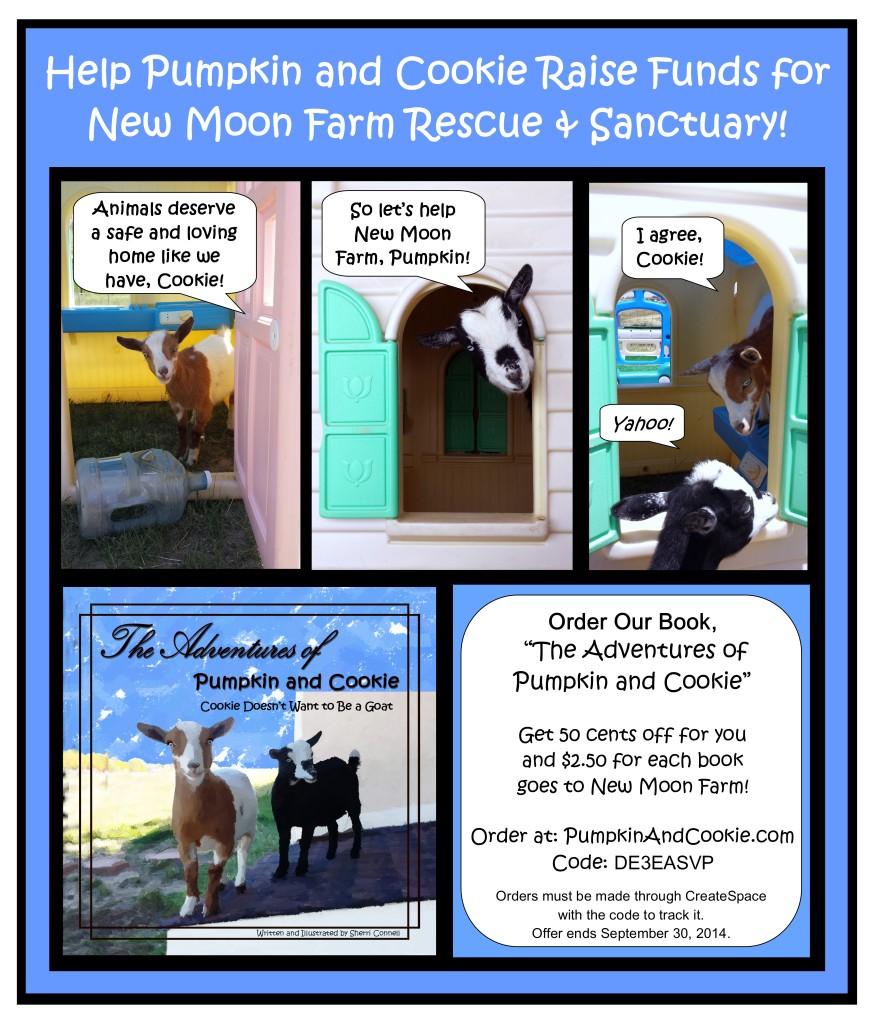 New Moon Farm Goat Rescue and Sanctuary Fundraiser