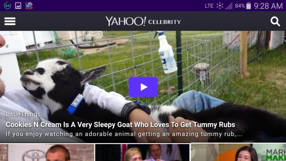 Cookie Yahoo Celebrity